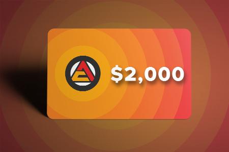 HPwES 2,000 Gift Card