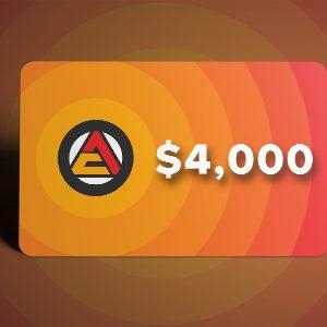 HPwES 4,000 Gift Card