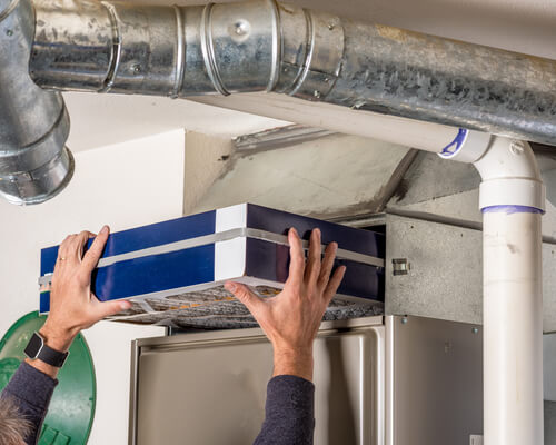 How long does it take to clean a furnace?