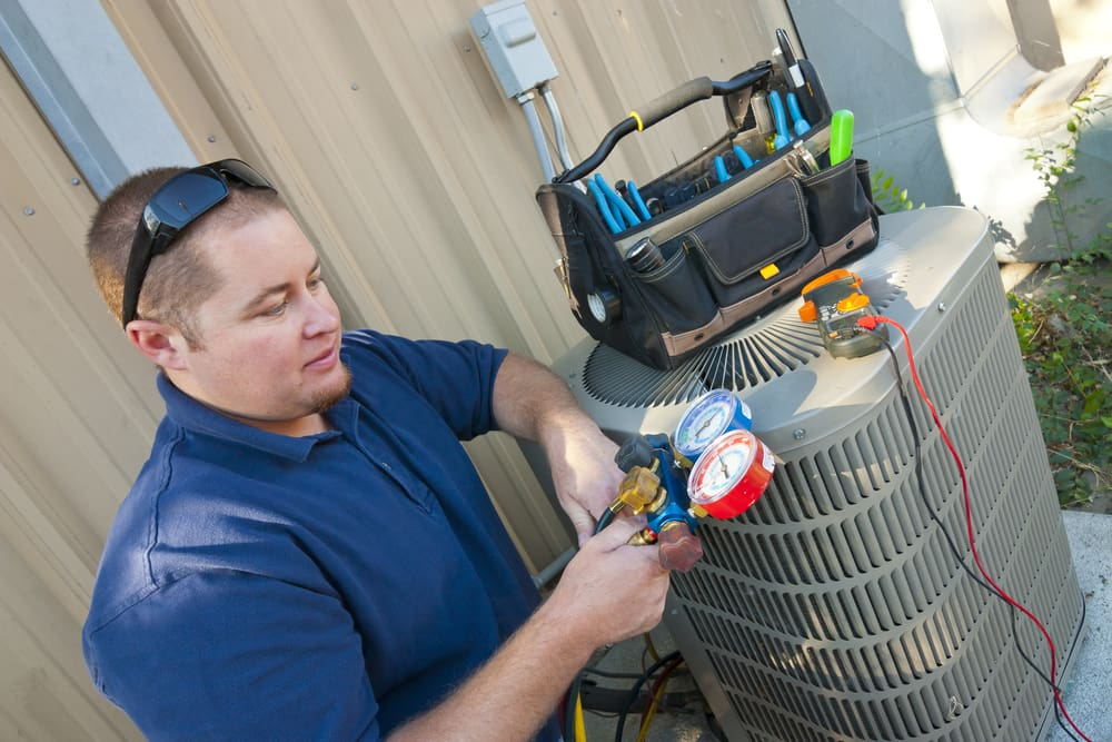 Can I replace my outside AC condenser unit